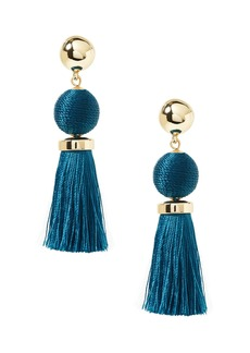 Banana Republic Classic Bauble Tassel Earrings