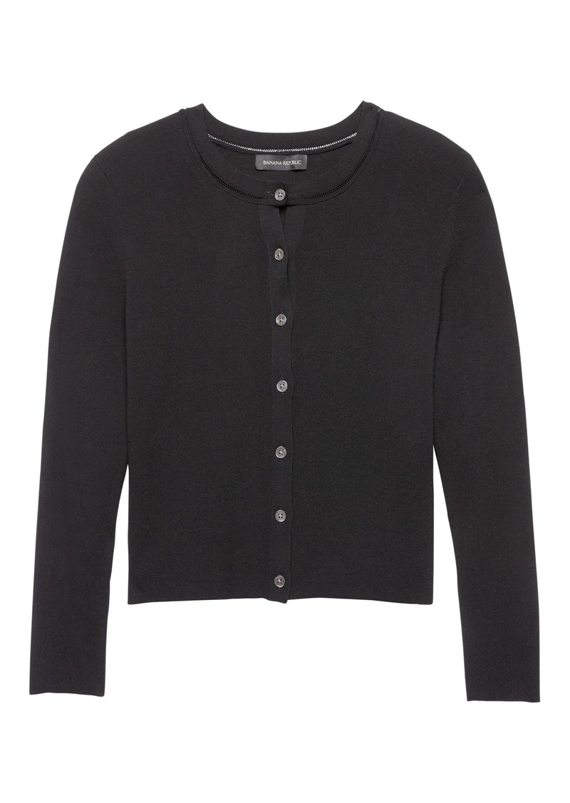 how to find latest style best loved Classic Cropped Cardigan Sweater