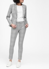 Banana Republic Classic-Fit Plaid Washable Blazer