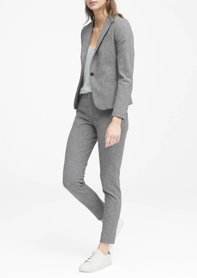 Banana Republic Classic-Fit Textured Blazer