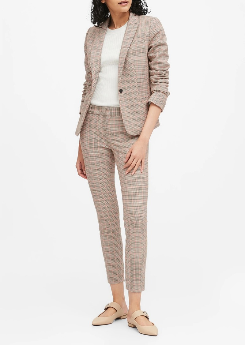 Banana Republic Classic-Fit Washable Bi-Stretch Blazer