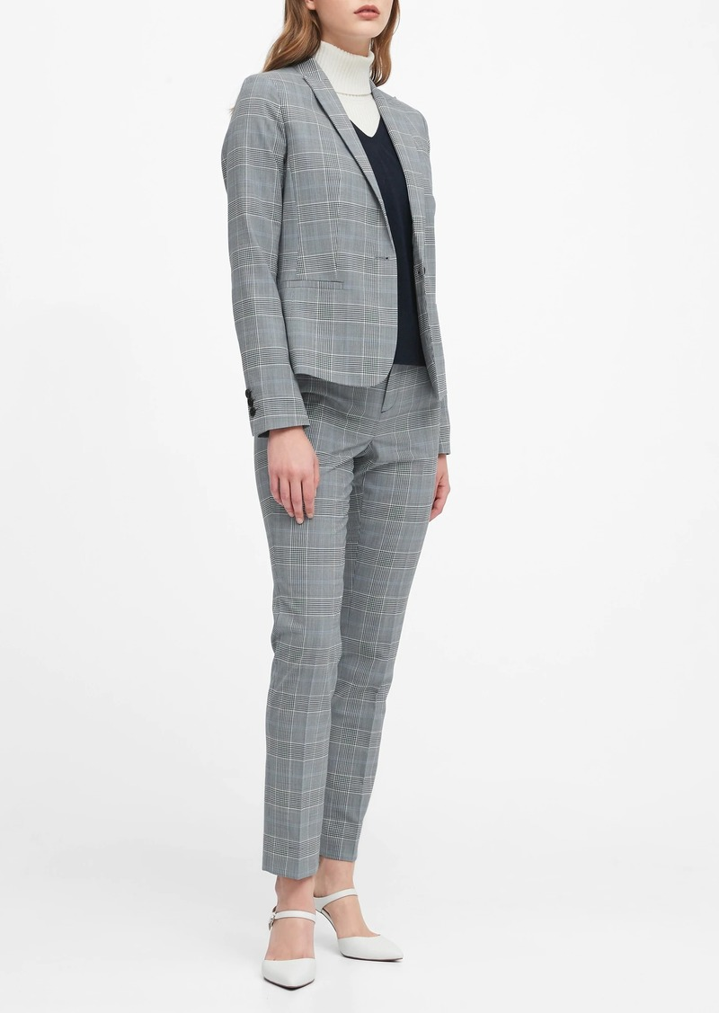 Banana Republic Classic-Fit Washable Wool-Blend Blazer