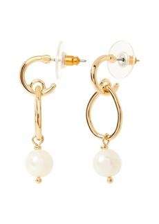 Banana Republic Classic Pearl Dangle Earrings