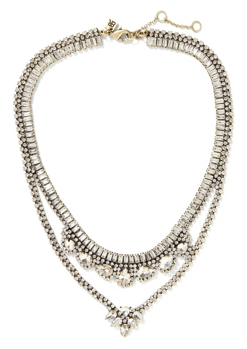 Banana republic classic rebel crystal built in necklace for Rebel designs jewelry sale