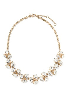 Banana Republic Clear Sparkle Cluster Necklace