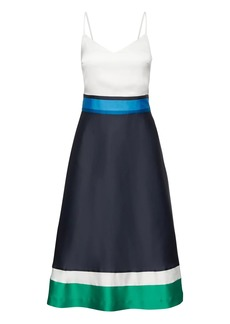 Banana Republic Color Block Midi Dress