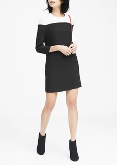 Banana Republic Color-Blocked Shift Dress