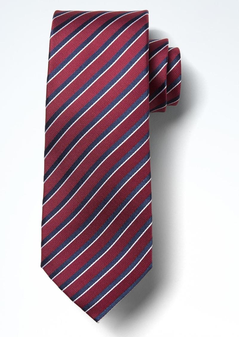 Banana Republic Contrast Silk Nanotex® Tie