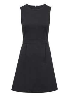 Banana Republic Contrast Stitch Fit-and-Flare Dress