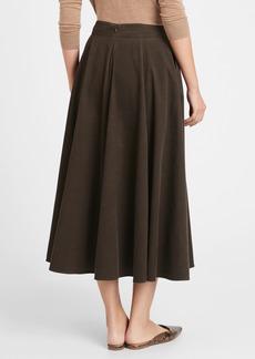 Banana Republic Corduroy Midi Skirt