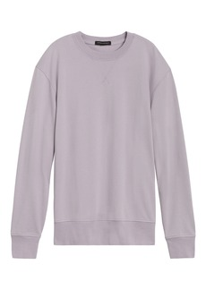 Banana Republic Core Temp Terry Sweatshirt