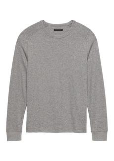 Banana Republic Core Temp Waffle-Knit Thermal T-Shirt
