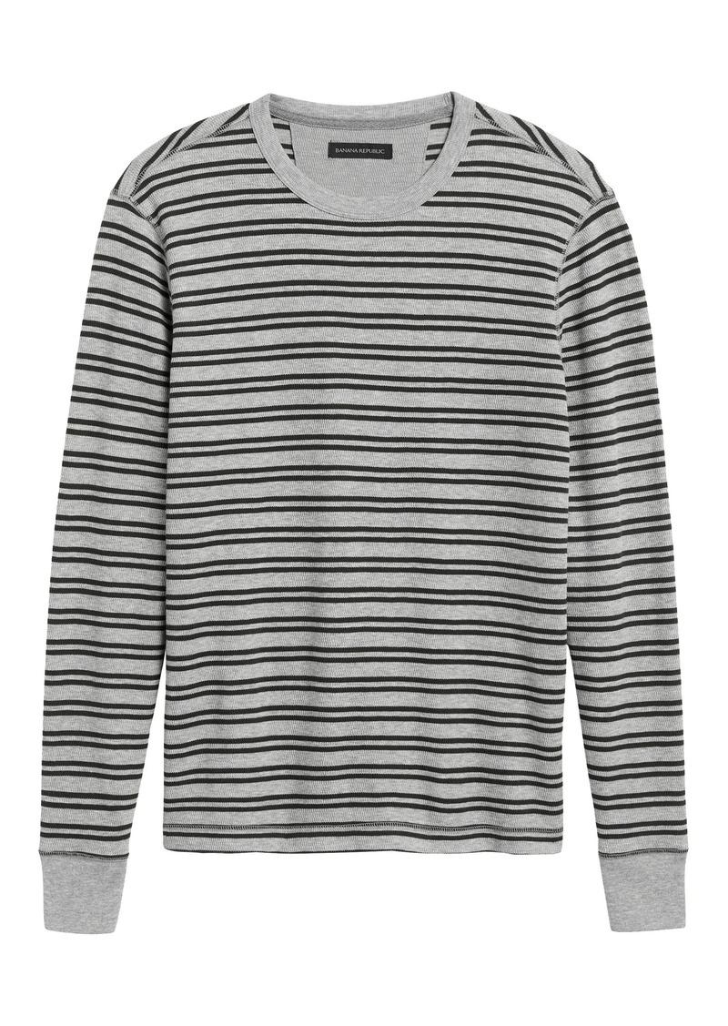 Banana Republic Core Temp Waffle-Knit T-Shirt