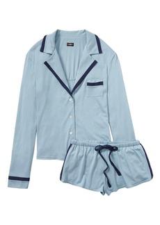 Banana Republic Cosabella &#124 Bella Long-Sleeve Top & Boxer Pajama Set