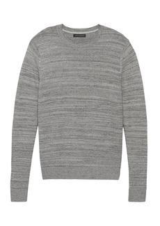 Banana Republic Cotton Crew-Neck Sweater