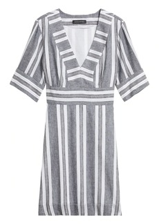 Banana Republic Cotton-Linen Mini Dress
