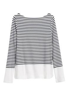 Banana Republic Cotton-Modal Boat-Neck T-Shirt
