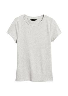 Banana Republic Cotton-Modal Shrunken T-Shirt