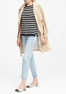 Banana Republic Cotton Stripe Sweater Shell