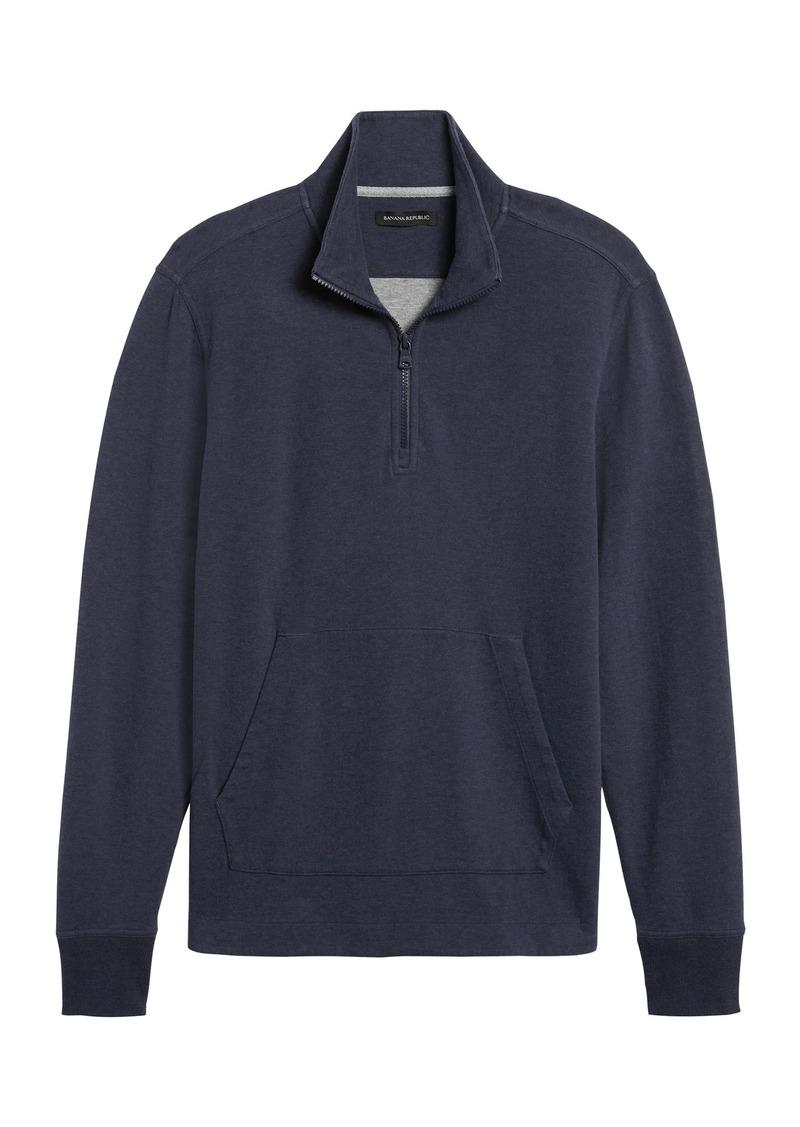 Banana Republic Cozy Half-Zip Sweatshirt