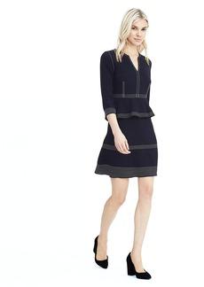 Crepe Stitch Dress