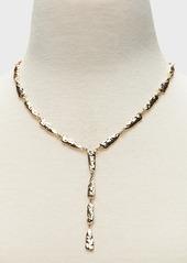 Banana Republic Crinkle Metal Y-Necklace