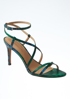 Banana Republic Crisscross High Heel Sandal