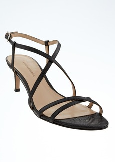 Banana Republic Crisscross Kitten Heel Sandal