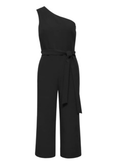 Banana Republic Cropped One-Shoulder Jumpsuit