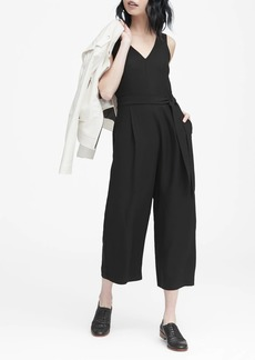 Banana Republic Cropped V-Neck Jumpsuit