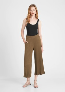 Banana Republic Ribbed-Knit Wide-Leg Lounge Pant