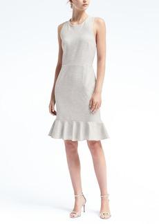 Cross-Back Ponte Dress