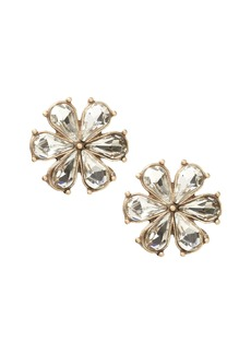 Banana Republic Crystal Floral Stud Earring