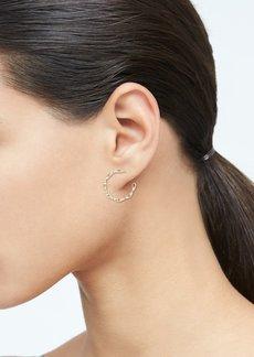 Banana Republic Crystal Link Hoop Earrings