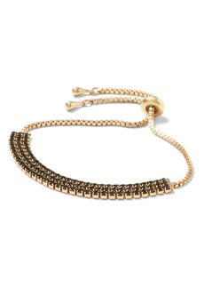 Banana Republic Cupchain Multi Row Slider Bracelet
