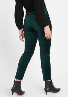 Banana Republic Curvy Mid-Rise Skinny Velvet Pant
