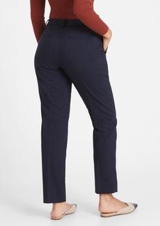 Banana Republic Curvy Ryan Slim Straight-Fit Cotton-Wool Blend Pant