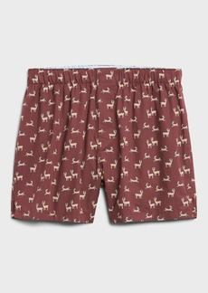 Banana Republic Deer Party Boxer