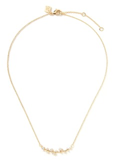 Banana Republic Delicate Cluster Pendant Necklace