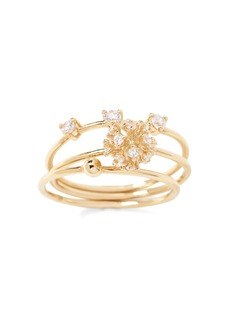Banana Republic Delicate Fireball Stack Ring