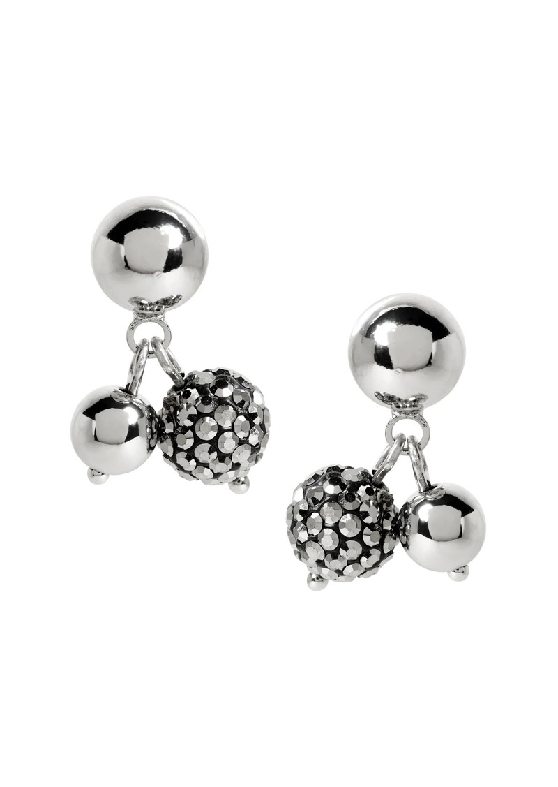 Banana Republic Delicate Pav� Ball Drop Earrings
