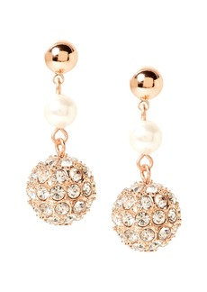 Banana Republic Delicate Pavé Linear Drop Earring