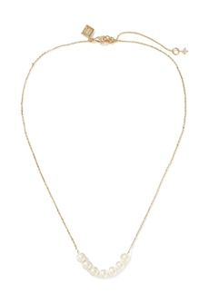 Banana Republic Delicate Pearl Pendant Necklace