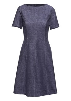 Banana Republic Denim Fit-and-Flare Dress