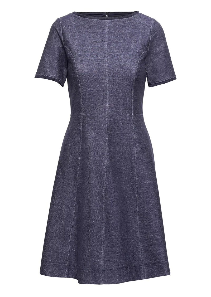 Banana Republic Denim Fit And Flare Dress