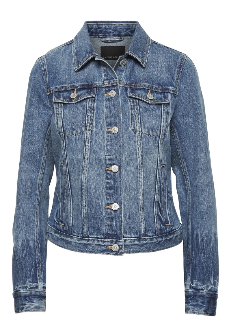 Banana Republic Denim Trucker Jacket