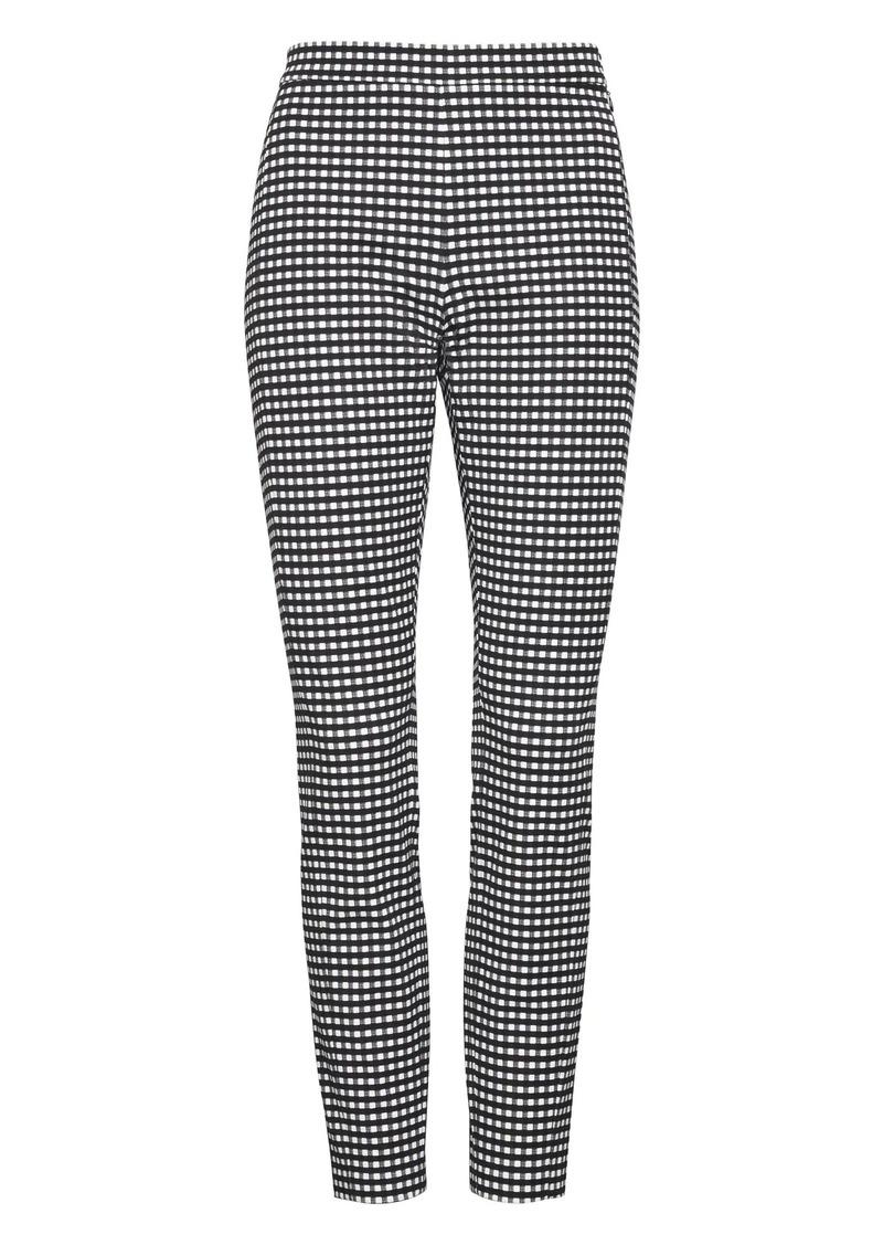 f253509630f8b SALE! Banana Republic Devon Legging-Fit Gingham Bi-Stretch Ankle Pant