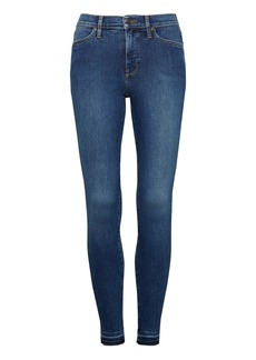 Devon Legging-Fit Luxe Sculpt Medium Wash Jean with Fray Hem
