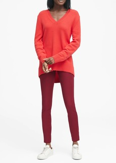 Banana Republic Devon Legging-Fit Machine-Washable Bi-Stretch Ankle Pant