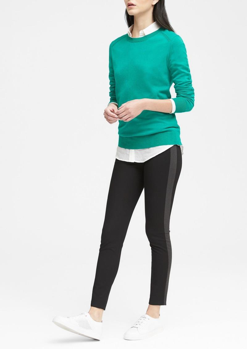 1c491a6f051ef Banana Republic Devon Legging-Fit Side-Stripe Ankle Pant | Casual Pants